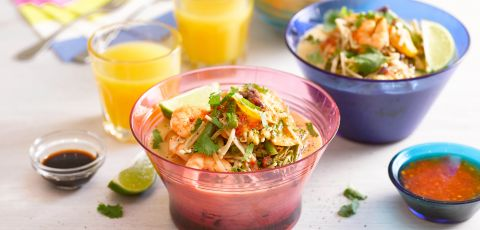 Prawn and Vegetable Coconut Noodles